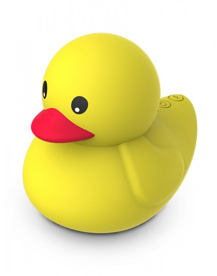 Leten - Dudu Ducky (Rechargeable, Dual Motor, 100% Silicone)
