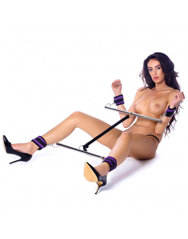 Rimba - Double Spreader Bar with Soft Cuffs