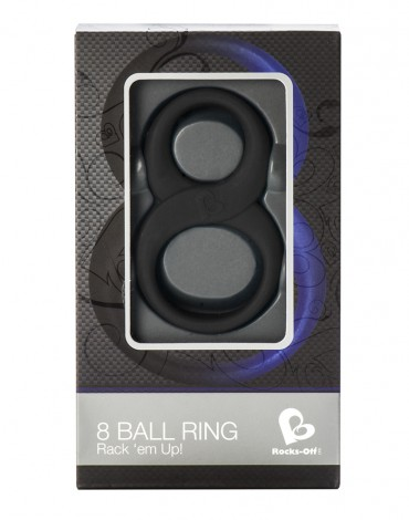 Rocks-Off 8 Ball Ring