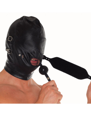 Rimba - Face mask with detachable gag, blinkers and mouth piece