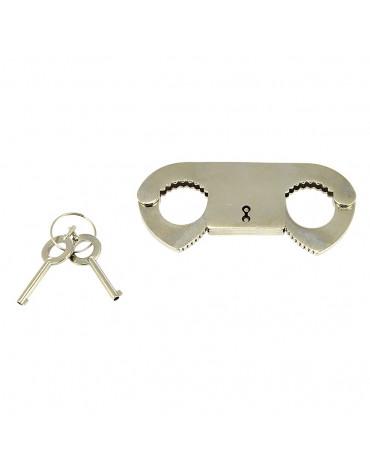 Rimba - Metal police thumb-cuffs