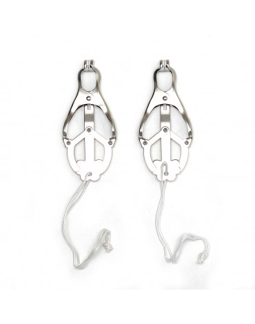 Rimba - Nipple clamps without chain (pair)