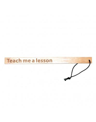 Rimba - Teach Me A Lesson - Règle de bambou