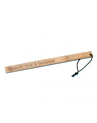 Rimba - Teach Me A Lesson - Bamboo Ruler