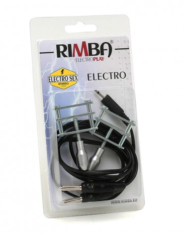 Rimba Electro clamps Uni-polar (2 pcs)