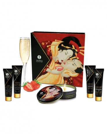Shunga - Geisha Secret Kit Sparkling Wine Strawberry