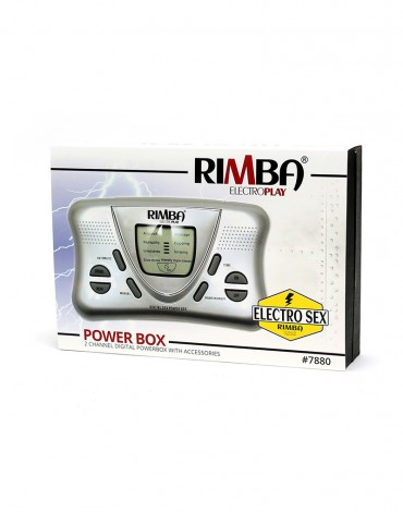 Rimba - Elektro Sex Powerbox Set mit LCD Display