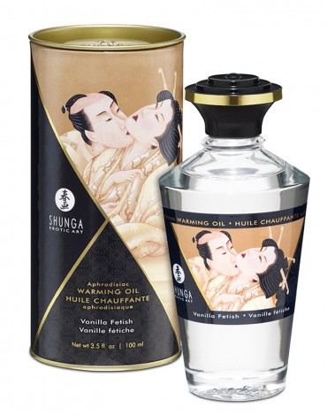Shunga - Aphrodisiac Warming Oil - Vanilla 100 ml.