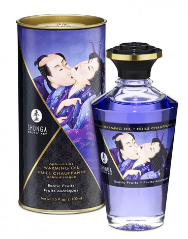 Shunga - Aphrodisiac Warming Oil - Exotic fruit 100 ml.