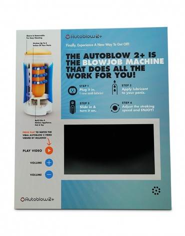 Autoblow Video Screen Display