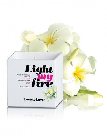 Light My Fire Luscious Massage Candle - Monoï