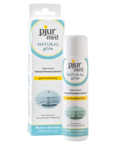 Pjur med Natural Glide (water based)