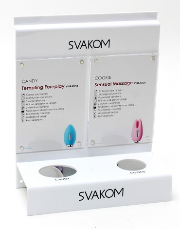 SVAKOM Product Display - Candy & Cookie