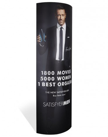 Satisfyer Men Oval Stand up Display