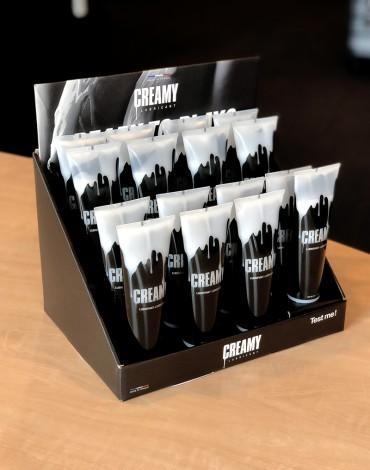Creamy 15 Pack plus tester en Display
