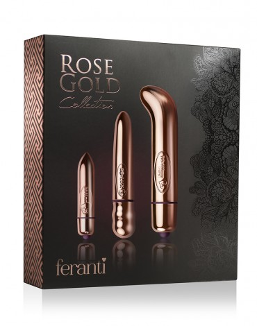 Rocks-Off Feranti Rose Gold Collection