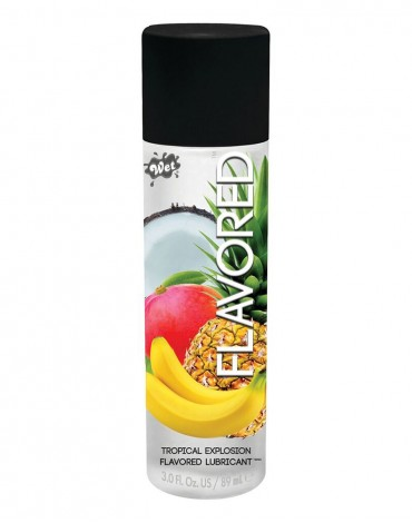 Wet Flavored Tropical explosion 89ml.