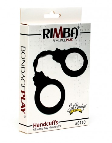 Rimba - Silicone Toy Handcuffs