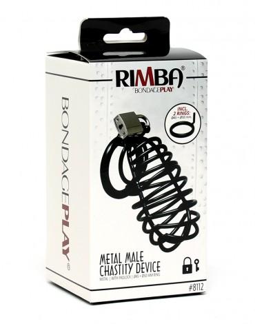 Rimba -  Le Chasteté Pénis métalliques et cadenas