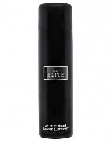 WET - Elite Black Water Silicone Blend 266ml.