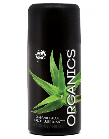 WET Organics Organic Aloe Based 148ml.