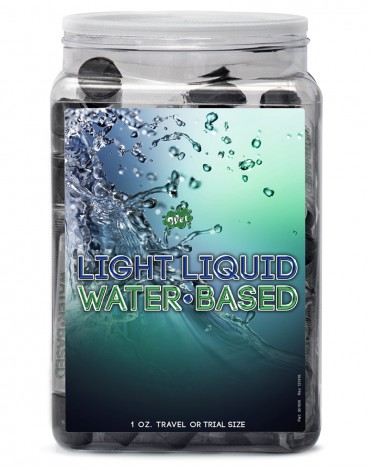 WET Light Liquid 36 x 30ml. in Counter Bowl display