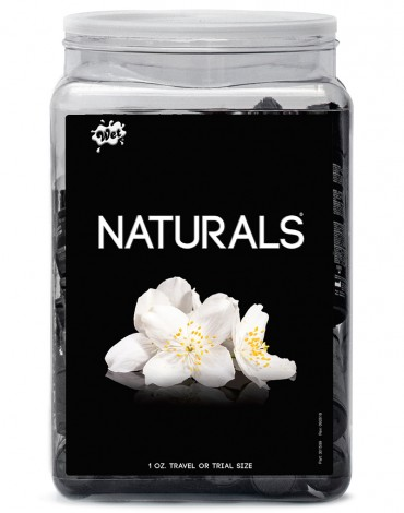 WET Naturals 36 x 30ml. Counter Bowl Display