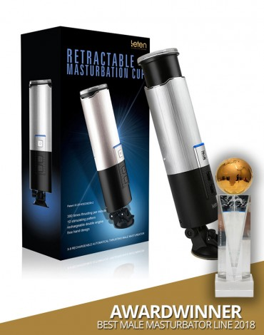 Leten X-9 Retractable Super Masturbator