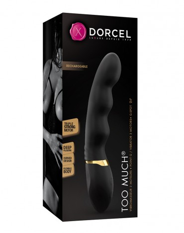 Dorcel Too Much 2.0 - Flexible Tripple Motor vibrator - 6072042