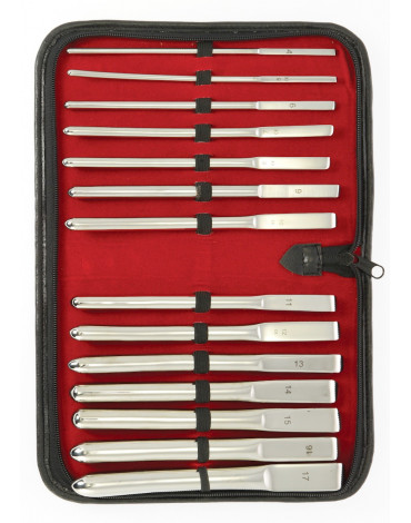 Rimba - Dilator Set (14 Grössen) Komplet in luxus Etui