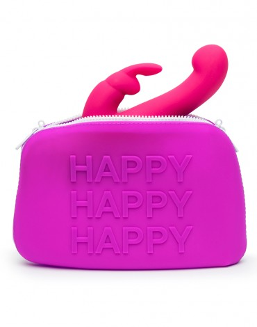 Happy Rabbit Storage Case large Purple
