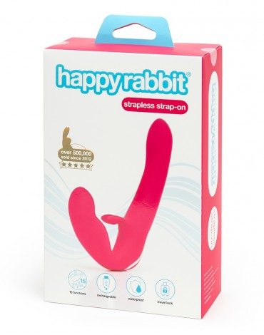 Happy Rabbit Recharge Strapless Strap-on