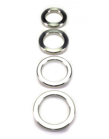 Rimba - Heavy stainless steel. solid cockring. 1 cm. wide