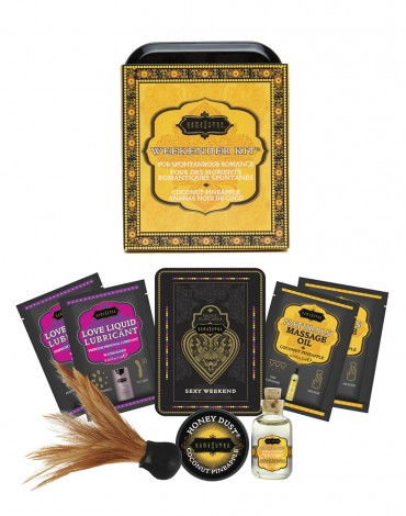 Kamasutra Weekender Kit Coconut Pineapple