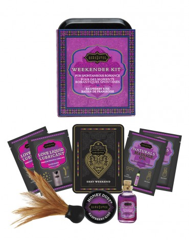 Kamasutra Weekender Kit Raspberry Kiss
