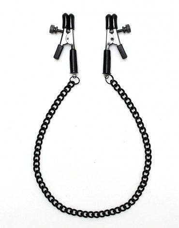 Rimba - Nipple clamps with chain