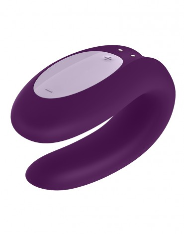 Satisfyer Double Joy Purple  / incl. Bluetooth and App