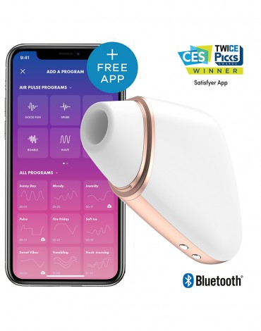 Satisfyer Love Triangle White / APP Connect