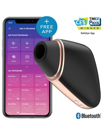 Satisfyer Love Triangle Black / incl. Bluetooth and App