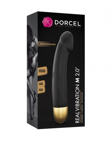 Dorcel - Real Vibration M 2.0  Black-Gold