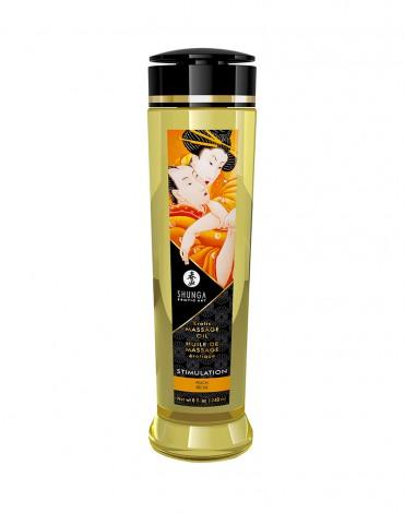 Shunga - Aceite de Masaje - Stimulation Peach - 240 ml