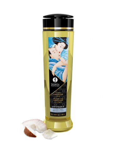 Shunga - Massage Oil - Adorable Coconut - 240 ml