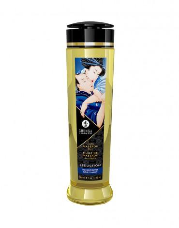 Shunga - Massage Öl - Seduction Midnight Flower - 240 ml