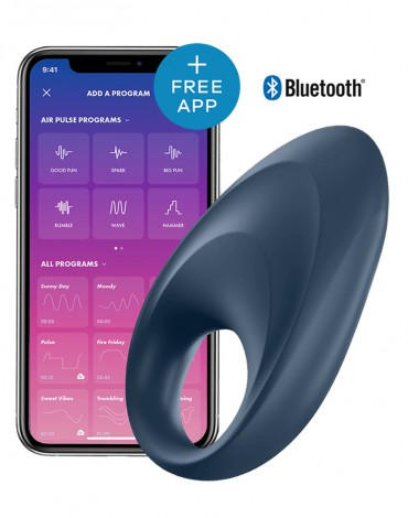 Satisfyer Cock Ring Mighty One / incl. Bluetooth and App