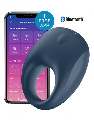 Satisfyer Cock Ring Strong One / incl. Bluetooth and App