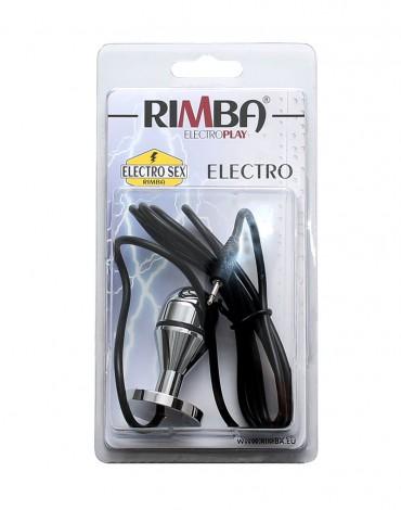 Rimba Electro mini buttplug. balloon shape (60 mm)