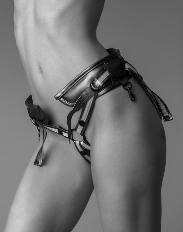 Strap-on-me harness Leatherette Desirous