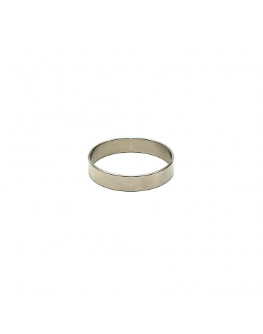 Rimba - Stainless steel. solid cockring. 1 cm. wide