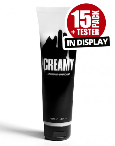 Creamy 15 Pack plus tester with Display