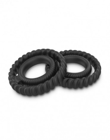 Dorcel - Dual Ring - Cock Ring - Black - 6072547